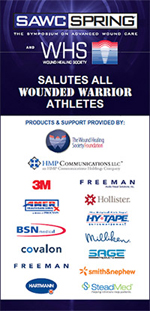 Wounded Warrior signage