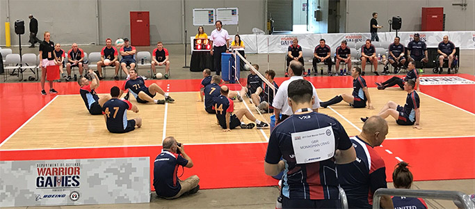 Sitting volleyball qualifying round